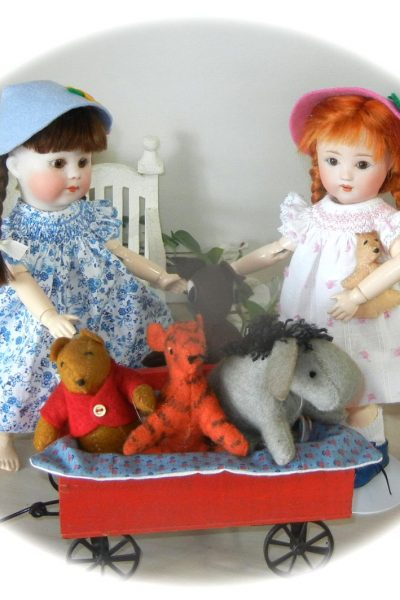 Lou Pooh & Friends load up for fun